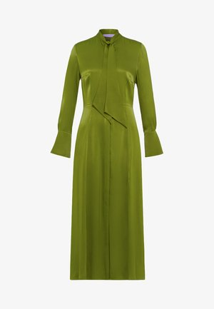 MIT BINDESCHLEIFE - Vestido largo - irish green