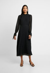 IVY & OAK - PLEATED DRESS - Vestito estivo - black - 0