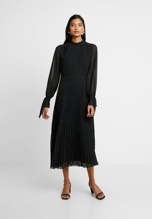 PLEATED DRESS - Sukienka letnia - black