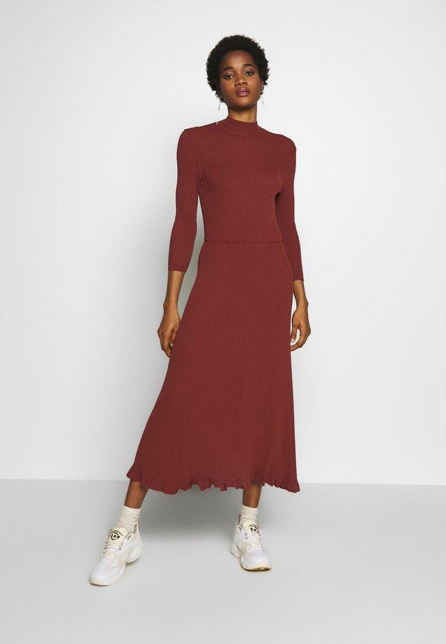 WRAP DRESS - Maxi šaty - sierra
