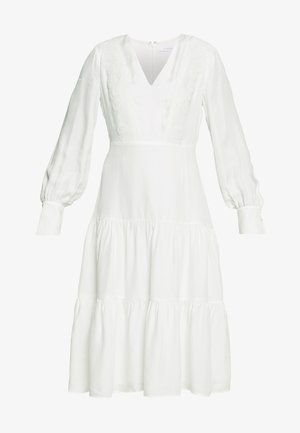 MIX DRESS MIDI - Day dress - snow white