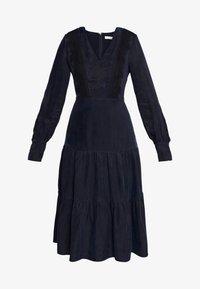IVY & OAK - MIX DRESS MIDI - Korte jurk - navy blue - 5