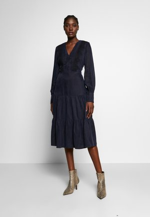 MIX DRESS MIDI - Day dress - navy blue