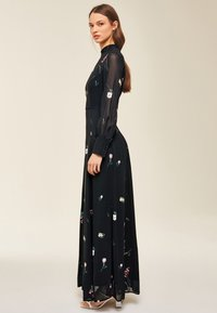 IVY & OAK - PRINTED DRESS - Vestito lungo - black - 2