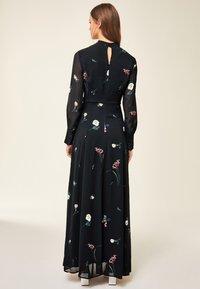 IVY & OAK - PRINTED DRESS - Vestito lungo - black - 1