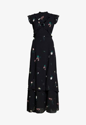 RUFFLED  - Maxi dress - black