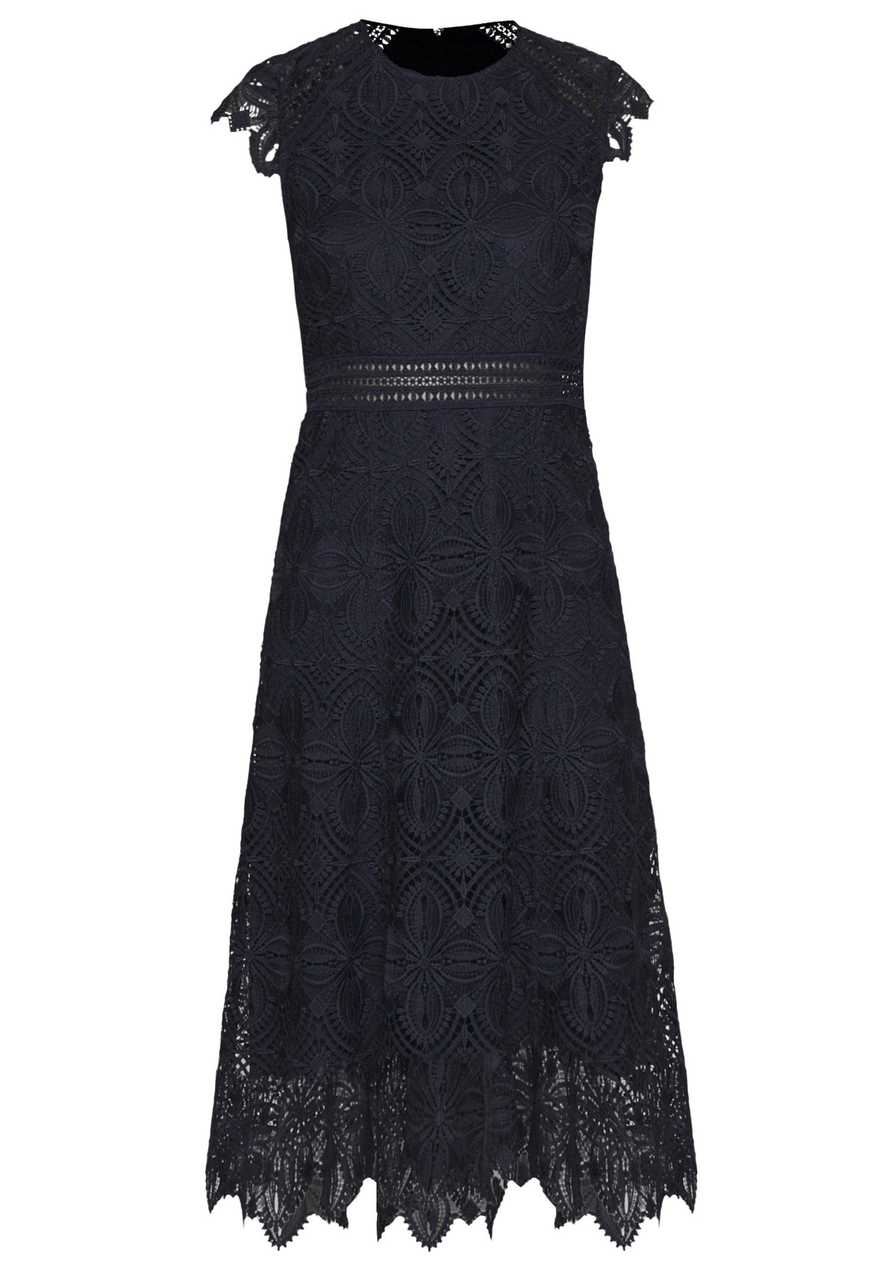 IVY & OAK DRESS MIDI - Sukienka letnia - navy blue