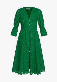 IVY & OAK - BROIDERY ANGLAISE DRESS - Day dress - secret garden green - 4