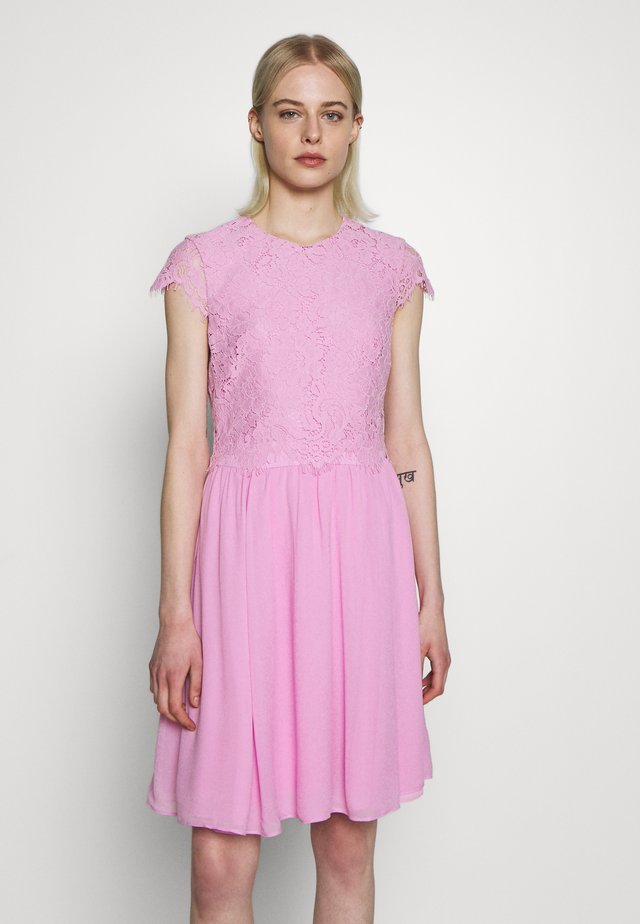 DRESS 2IN1 MINI - Juhlamekko - blush