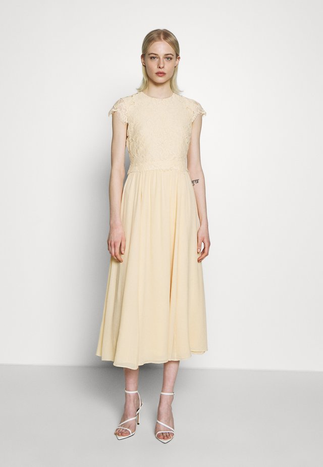 DRESS - Day dress - lemon cream