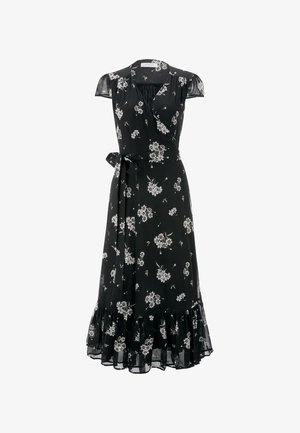 WRAP  - Vestido informal - aop/fine flower black