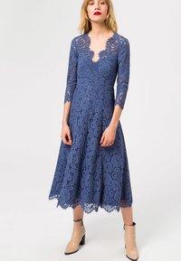IVY & OAK - Vestito elegante - blue - 1