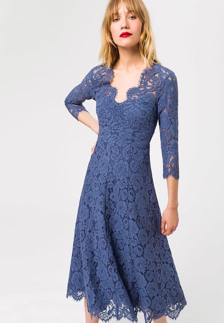 IVY & OAK - Vestito elegante - blue