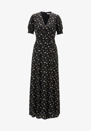 MIT VOLUMINÖSEN ÄRMELN - Maxi dress - black