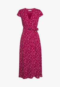 IVY & OAK - WRAP DRESS MIDI LENGTH - Freizeitkleid - cassis sorbet - 1