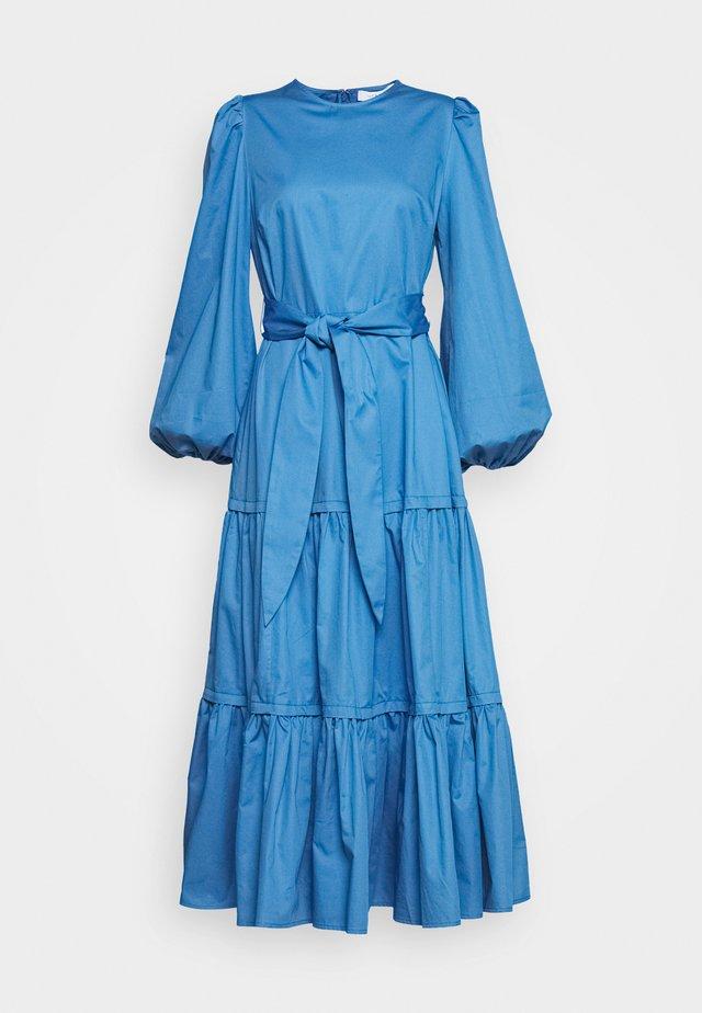 LONG SLEEVE DRESS - Hverdagskjoler - sea blue