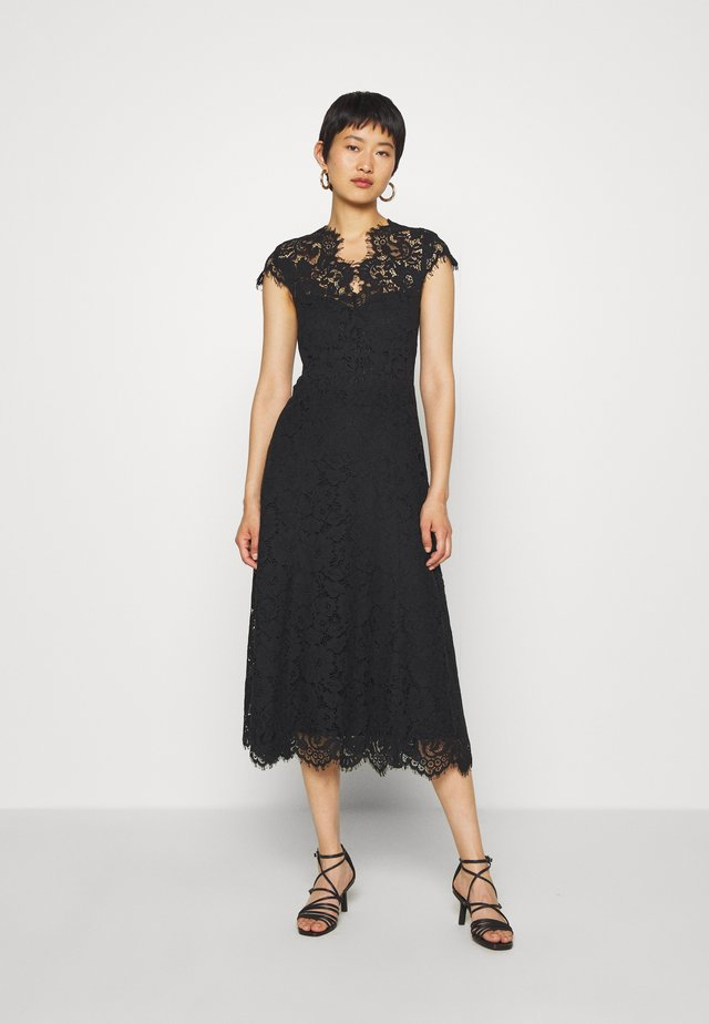 DRESS MIDI - Juhlamekko - black