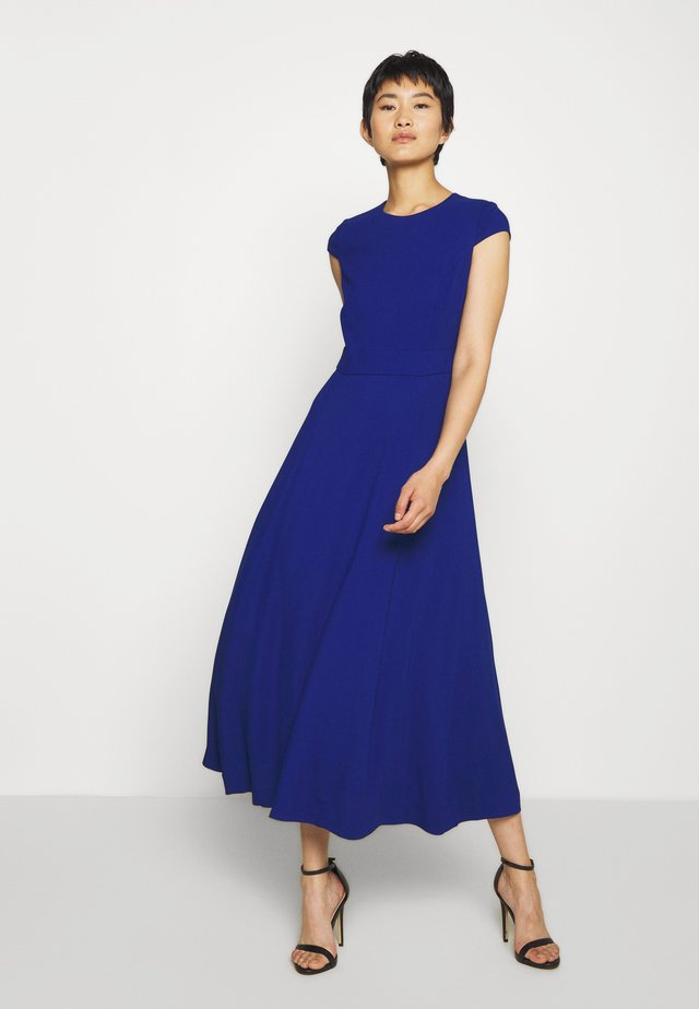 CAP SLEEVE DRESS MIDI - Day dress - illuminated blue