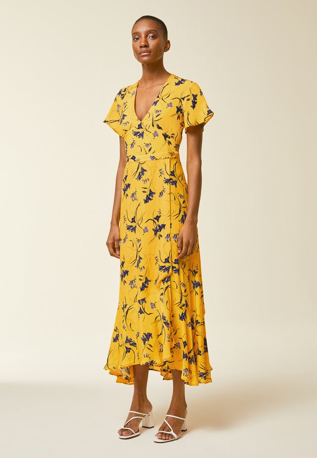 Maxi-jurk - sun yellow