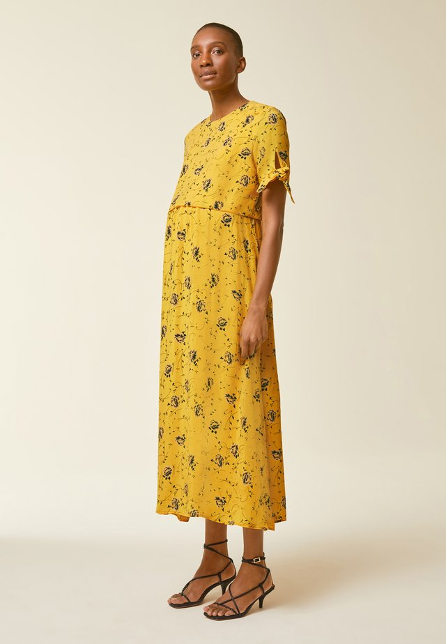 Maxi dress - sun yellow