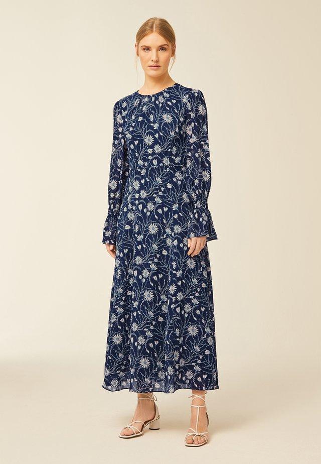 Maxi šaty - true blue