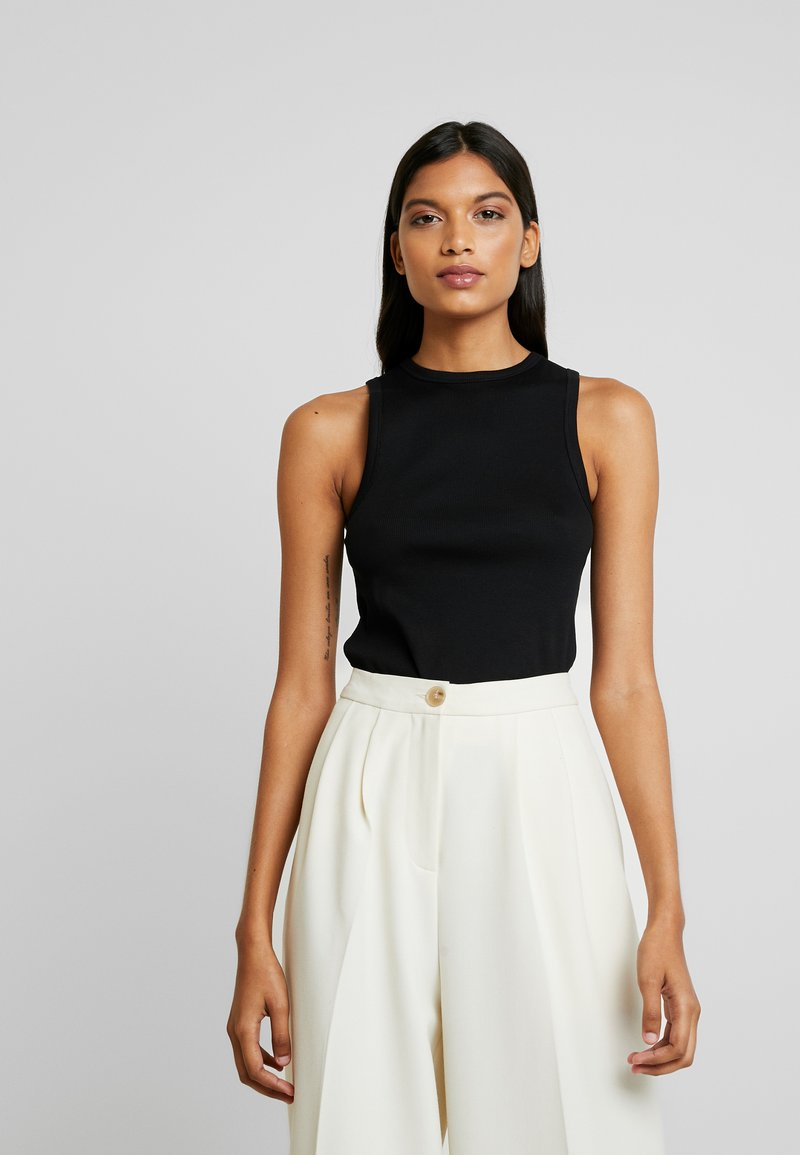 IVY & OAK - SLEEVELESS - Topper - black