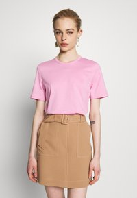 IVY & OAK - ROUND NECK - T-Shirt basic - blush - 0