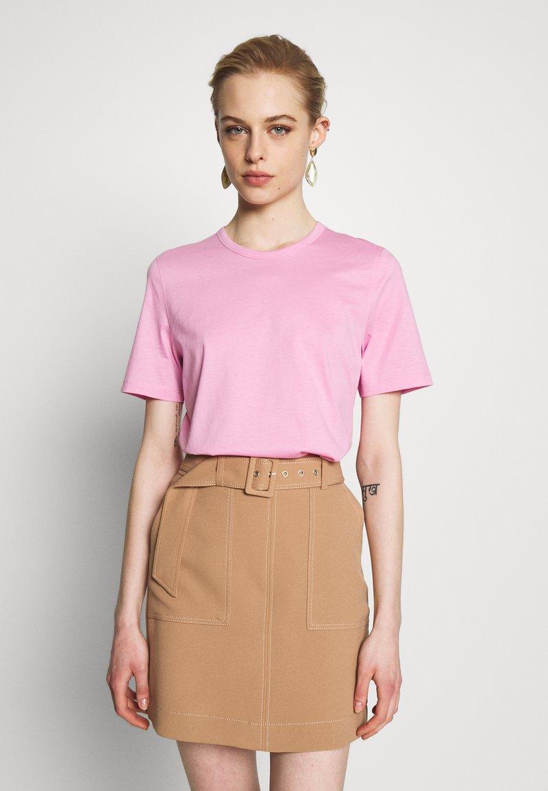 IVY & OAK - ROUND NECK - T-Shirt basic - blush