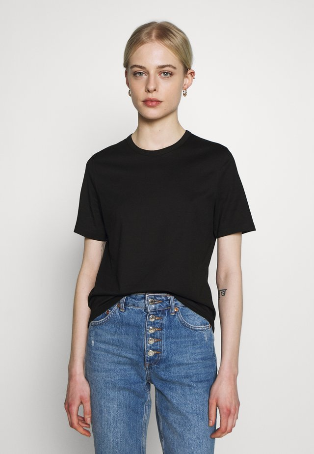 ROUND NECK - T-shirts basic - black