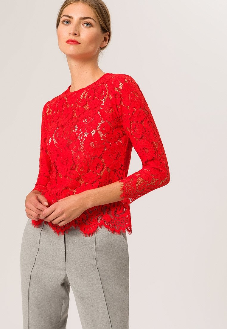 IVY & OAK - WITH SLEEVES - Pusero - light red