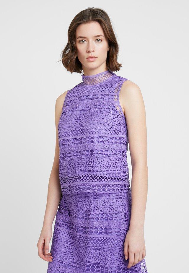 GRAPHIC TOP - Bluser - dahlia purple