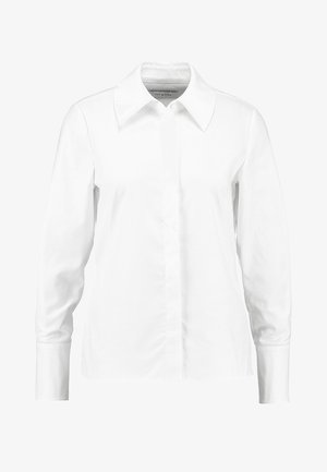 FITTED BLOUSE - Overhemdblouse - bright white