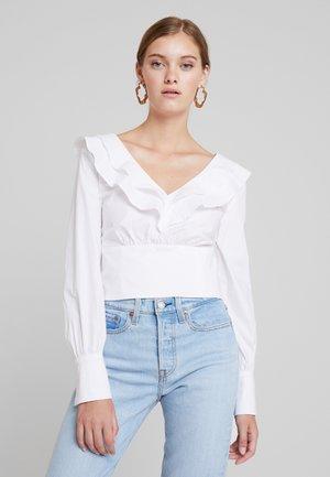 VALANCE - Bluser - bright white