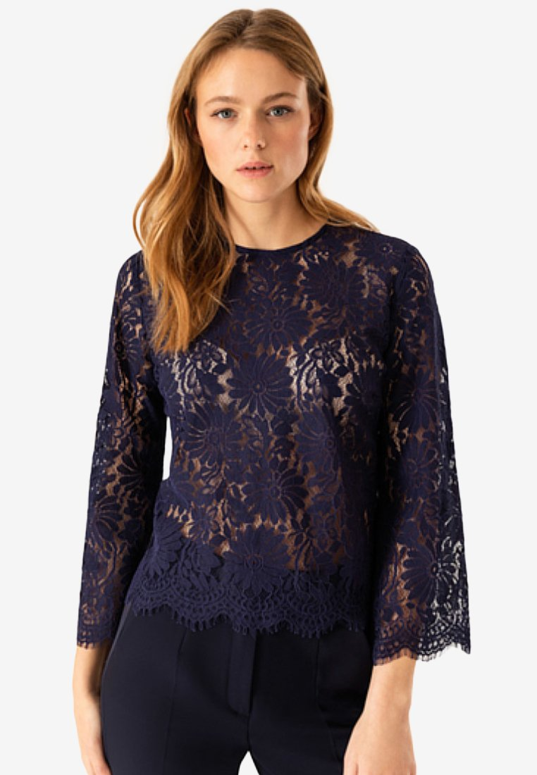 IVY & OAK - Bluse - blue