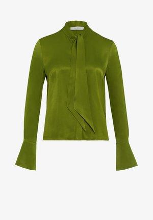 MIT BINDESCHLEIFE - Blusa - irish green