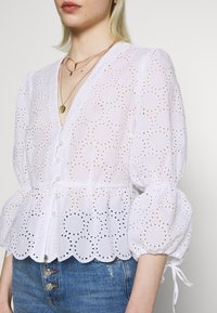 IVY & OAK - BROIDERY ANGLAISE  - Bluse - bright white - 4