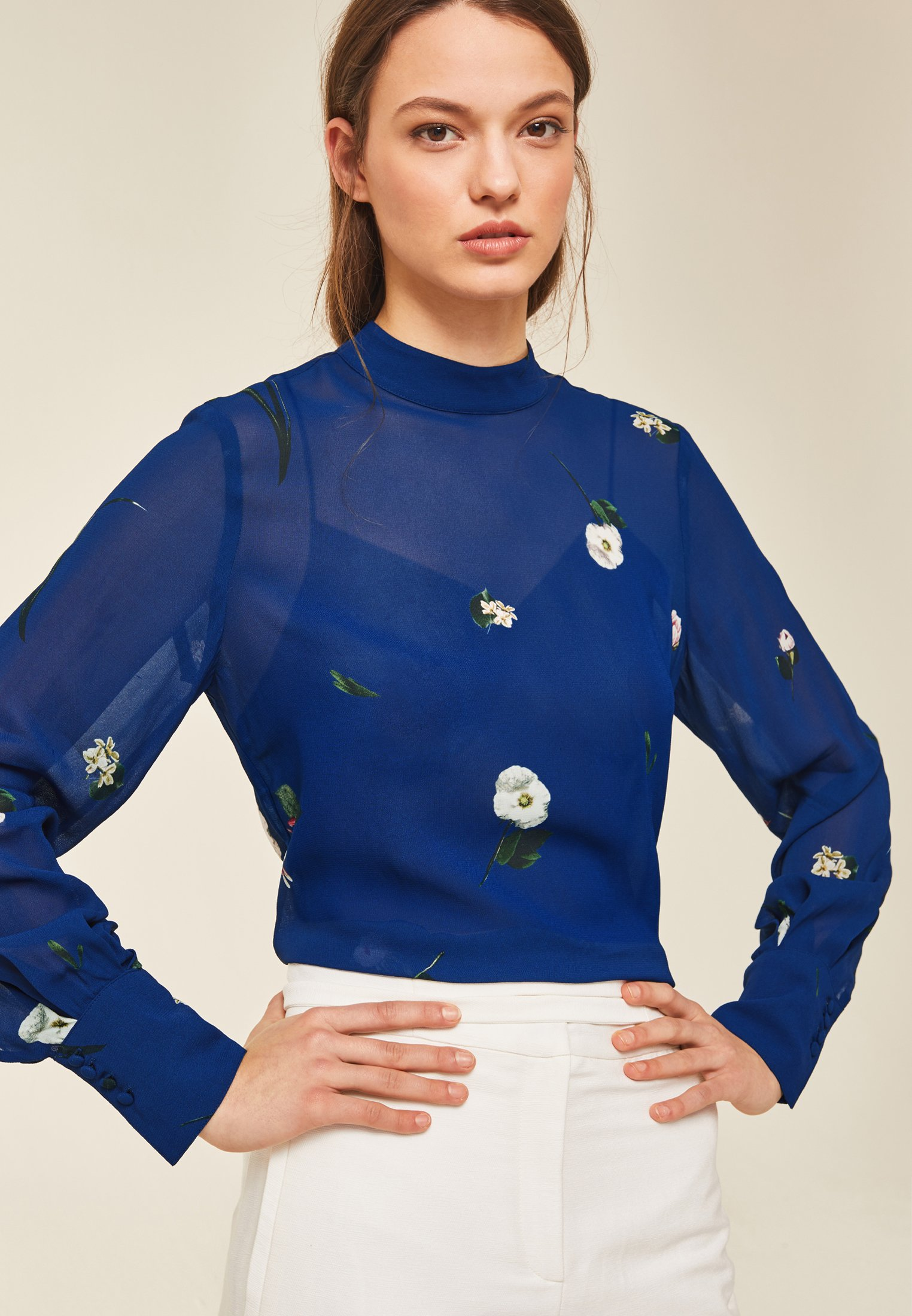 Ivy & Oak Blouse - Blue UK