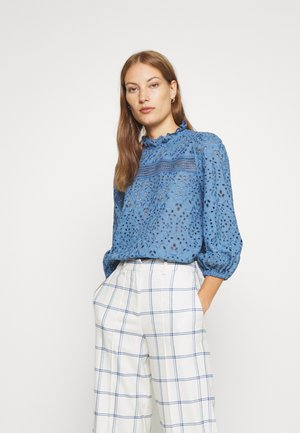 PUFFY BLOUSE - Camicetta - smoked sapphire