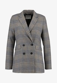 IVY & OAK - DOUBLE BREASTED CHECKED - Blazer - grey check - 4