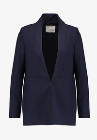 IVY & OAK - SHAWL COLLAR - Cappotto corto - navy blue