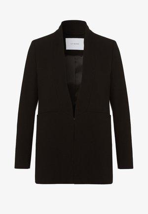 SHAWL COLLAR - Cappotto corto - black