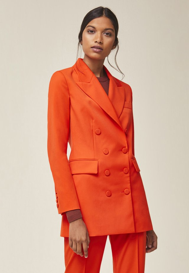 Blazer - mandarin red