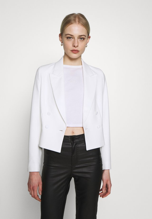 CROPPED  - Blazer - snow white