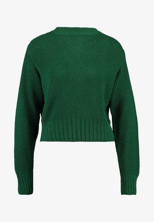 CROPPED JUMPER - Maglione - eden green