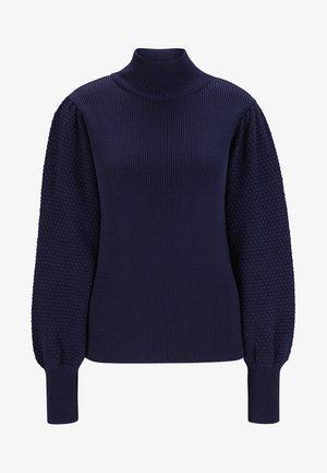Sweter - indigo