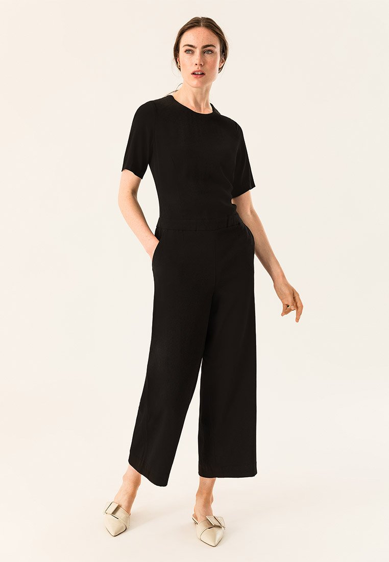 IVY & OAK - CULOTTE - Tuta jumpsuit - black