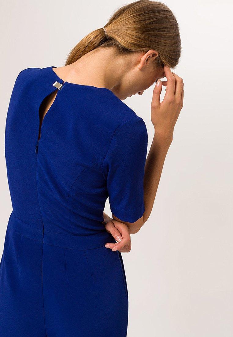IVY & OAK V NECK - Jumpsuit - royal blue