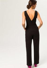 IVY & OAK - V NECK - Tuta jumpsuit - black - 1