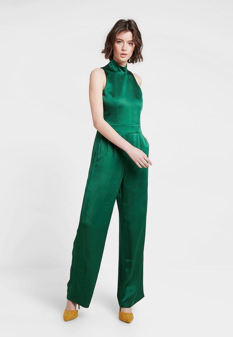 IVY & OAK - STANDUP COLLAR - Jumpsuit - eden green