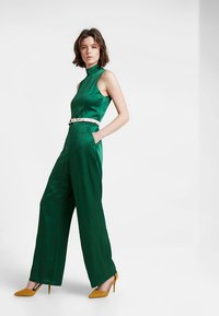 IVY & OAK - STANDUP COLLAR - Jumpsuit - eden green - 1